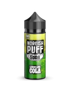 Moreish Puff Lime Cola 100+20