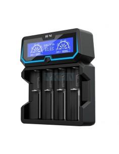 Cargador de 4 Baterias XTAR X4