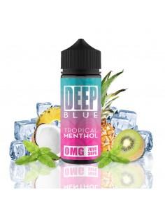 Deep Blue Tropical Menthol...