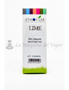 Liquido Atmos Lab Lime 10ml